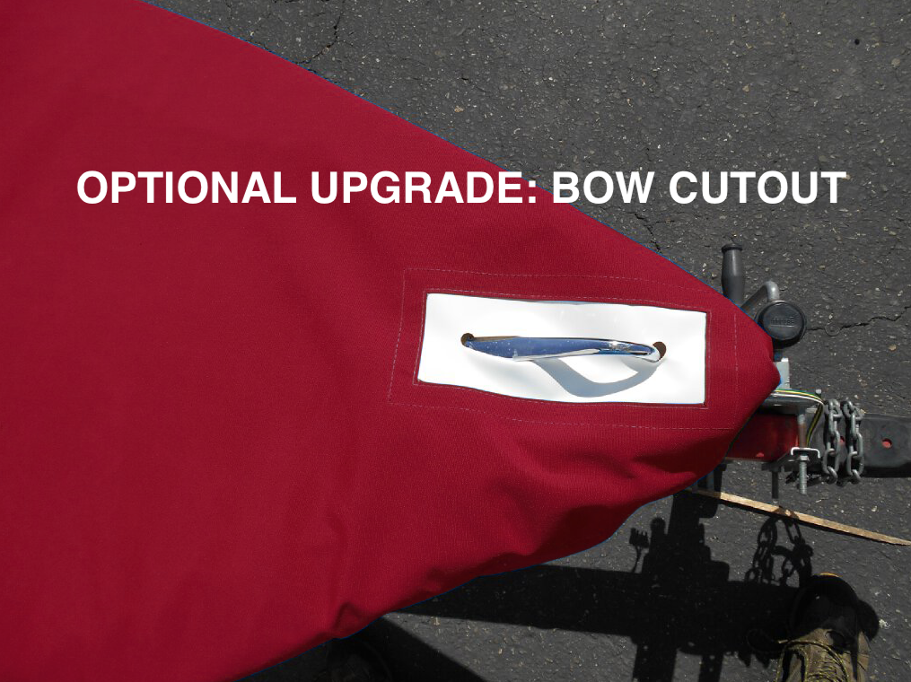 Optional Upgrade: Add a Bow Cutout for easy access to your bow handle.