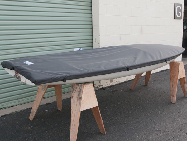 Topper Sailboat Top Cover made in America by skilled artisans at SLO Sail and Canvas.