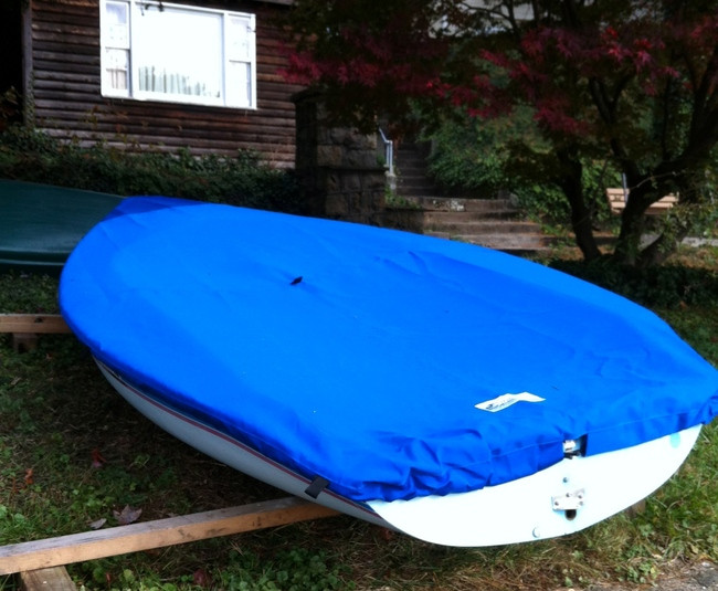 Europe sailboat Top Cover by SLO Sail and Canvas