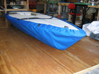Capri Wave sailboat Hull Cover by SLO Sail and Canvas