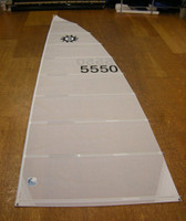 SolCat 18 White Dacron Mainsail