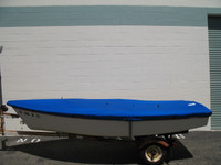 Boston Whaler Harpoon 4.6 Top Cover by SLO Sail and Canvas