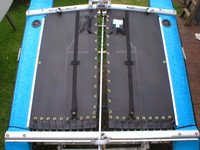 Black Mesh Maricat 4.3 Trampoline by SLO Sail and Canvas