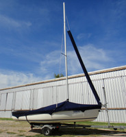 Mutineer Sailboat Jib Snorkel by SLO Sail and Canvas