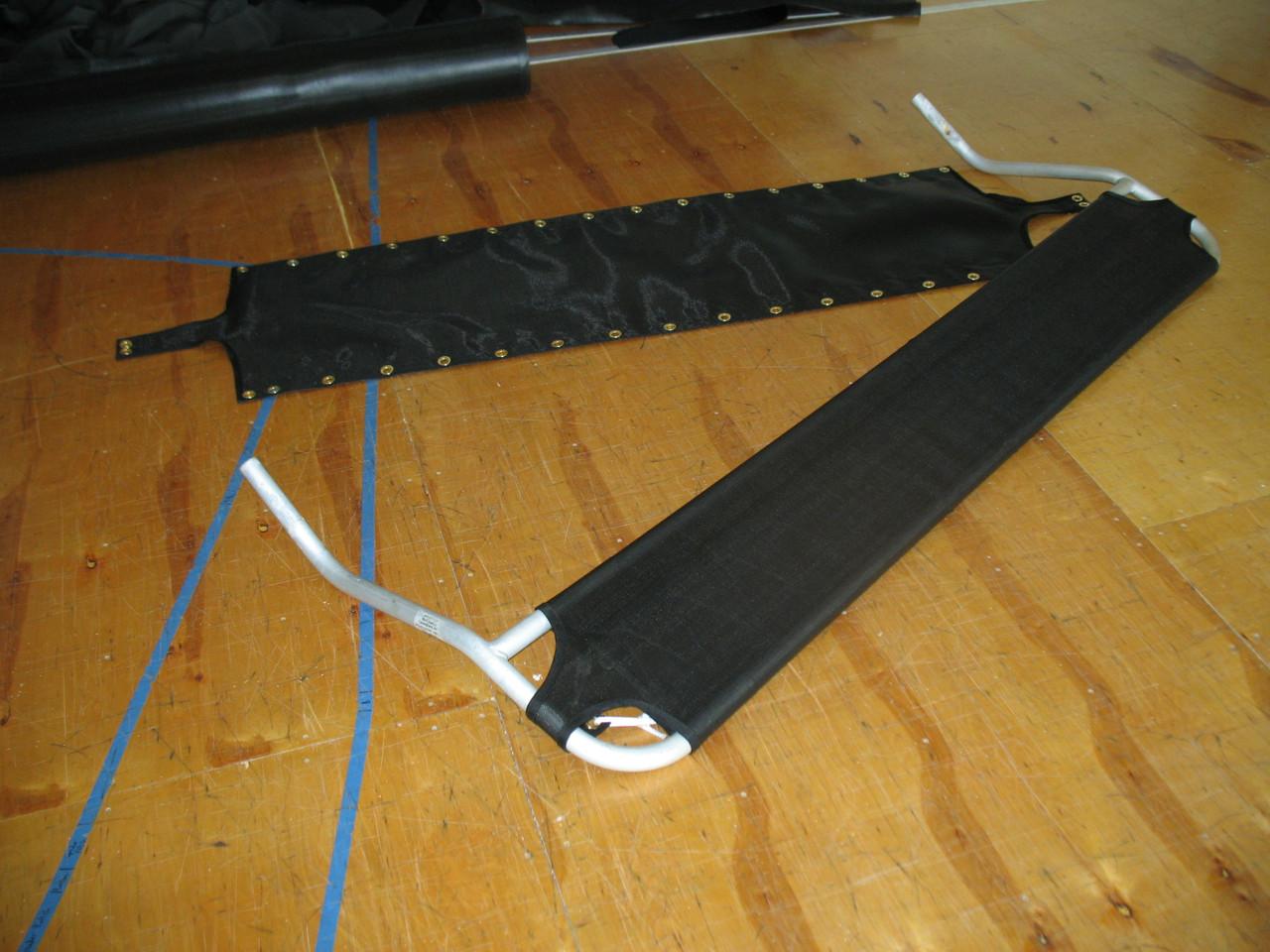 Black basket weave 8oz Polypropylene mesh has unmatched resistance to the elements.