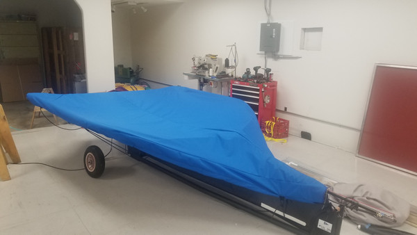 Top Cover to fit a Moth Mach II sailboat by SLO Sail and Canvas.