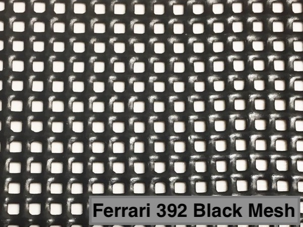 Serge Ferrari 392 Precontraint Mesh - available in white or black.
