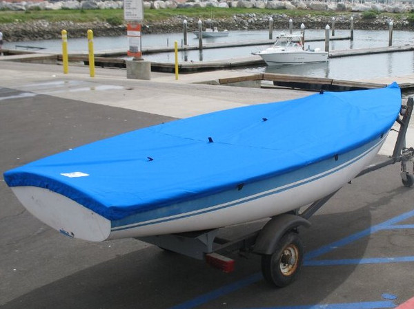 Sailboat Deck Cover made in America by skilled artisans at SLO Sail and Canvas.
