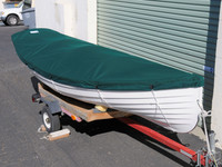 Whitehall Spirit 14 Top Cover made in America by skilled artisans at SLO Sail and Canvas.