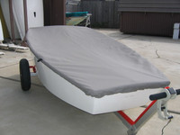 JY Club Trainer Sailboat Top Cover - Boat Deck Cover