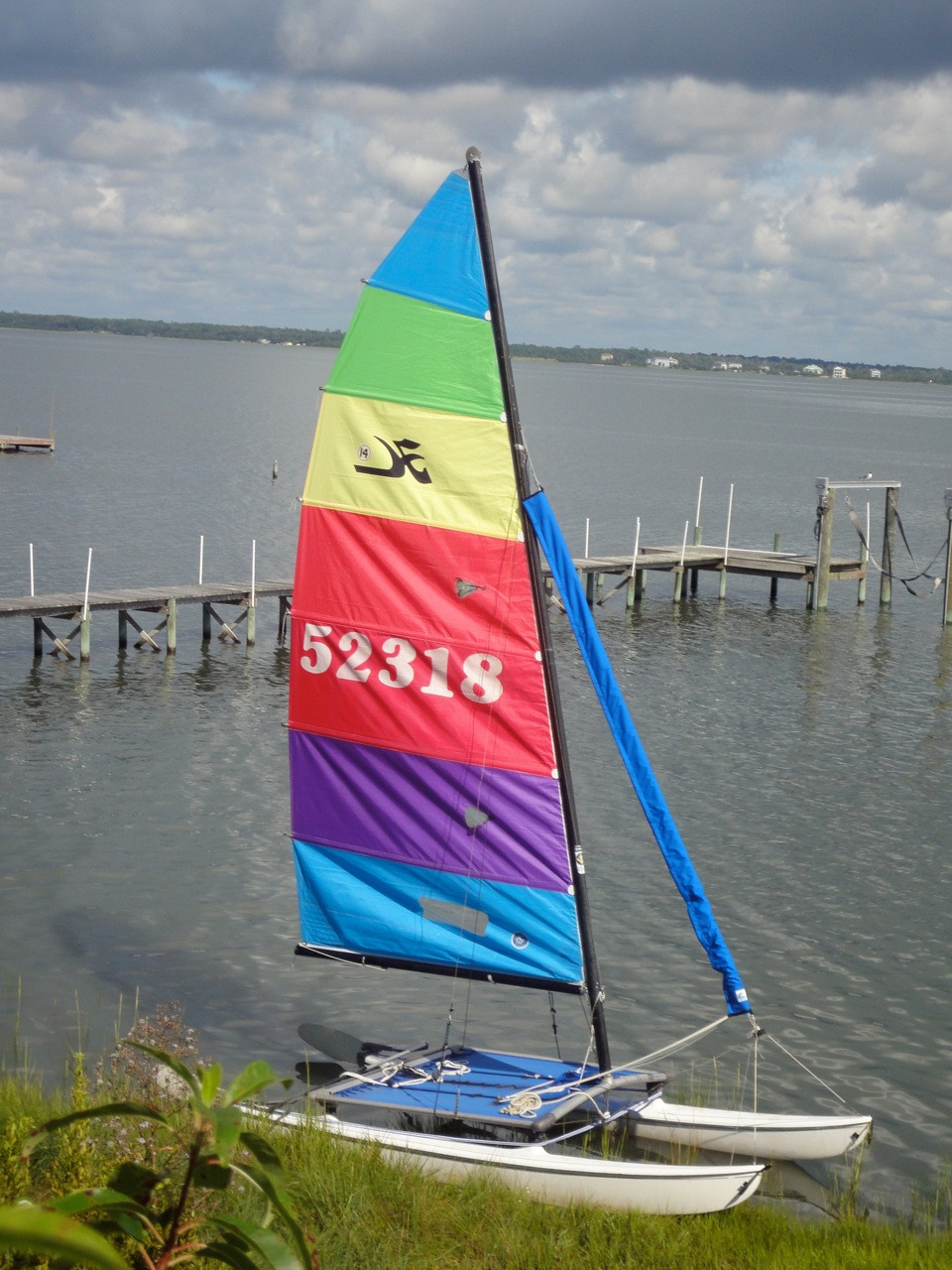 Nacra 5.0 Jib Snorkel by SLO Sail and Canvas