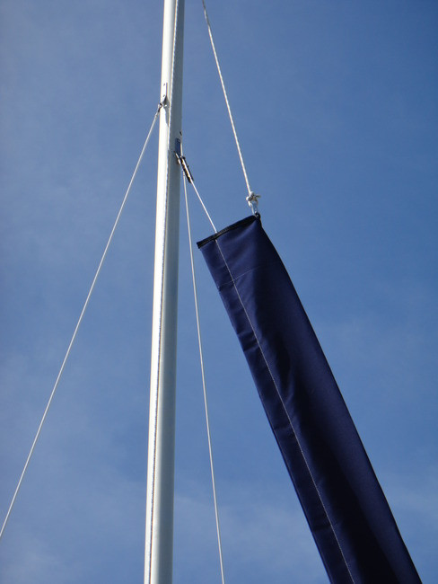 Nacra 5.5SL Jib Snorkel by SLO Sail and Canvas