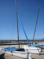 Nacra 5.8 Jib Snorkel by SLO Sail and Canvas