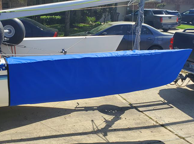 Prindle 19 Bow Covers by SLO Sail and Canvas