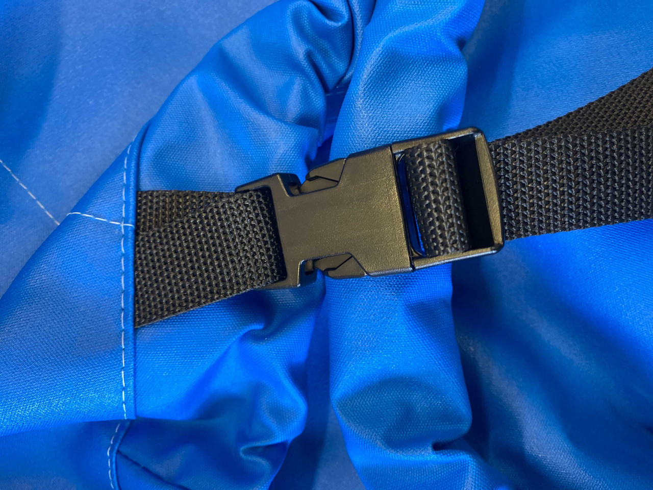 Optional Upgrade: Straps - Standard Web Loops are replaced with polypropylene straps with plastic Fastex® buckles.