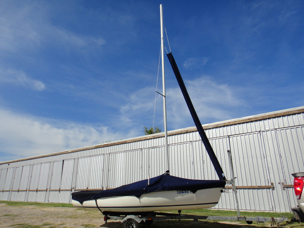 Capri 14.2 by Catalina Jib Snorkel by SLO Sail and Canvas