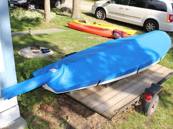 Sunfish Spars on Deck Top Cover by SLO Sail and Canvas