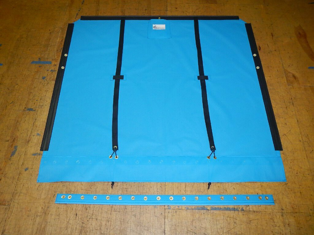 One piece Bias Cut Trampoline to fit a Hobie® 16 catamaran - made in America by skilled artisans at SLO Sail and Canvas.