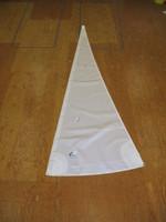 Venture 15 Straight Hull Jib Sail White Dacron