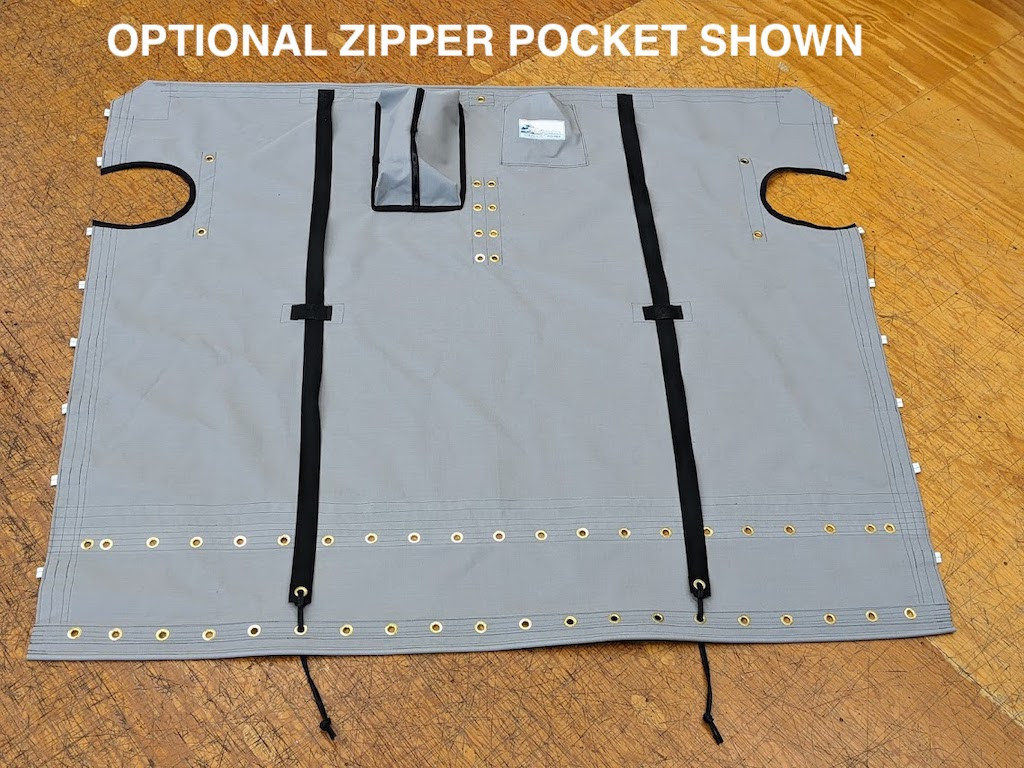 Optional Upgrade: Zipper Pocket