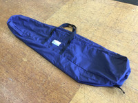 Sailor's Gear Bag made in America by skilled artisans at SLO Sail and Canvas. Shown in Polyester Navy Blue.