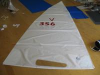 Venture 15 Banana Hull White Dacron Main Sail