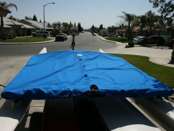 Protect your valued trampoline from the elements with a Trampoline Cover to fit a Hobie 16 from SLO Sail and Canvas.