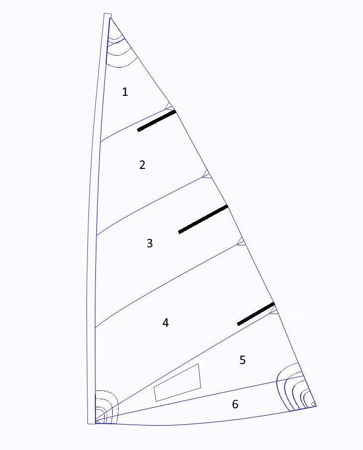 Holder 12 Mainsail - Color