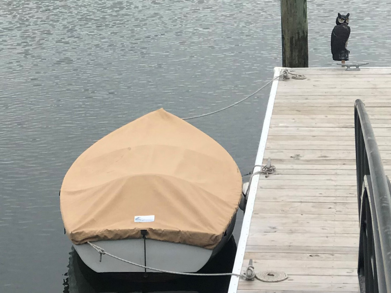 Use SLO Sail and Canvas' Top Deck Boat Cover to protect your boat while in storage, in the water, or while towing.