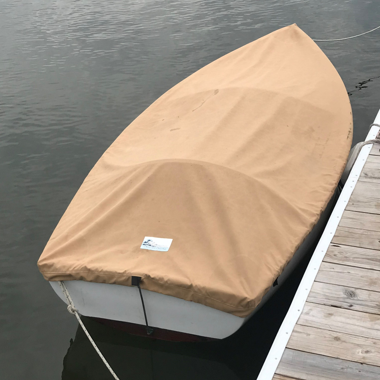 Protect your Dyer Dink from the Sun and nesting Ducks with a Top Cover available in many different fabric and colors. Pictured: Sunbrella Toast