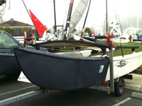 Padded Bow covers to fit your Hobie 16 Catamaran from SLO Sail and Canvas - hand crafted in San Luis Obispo California, USA!