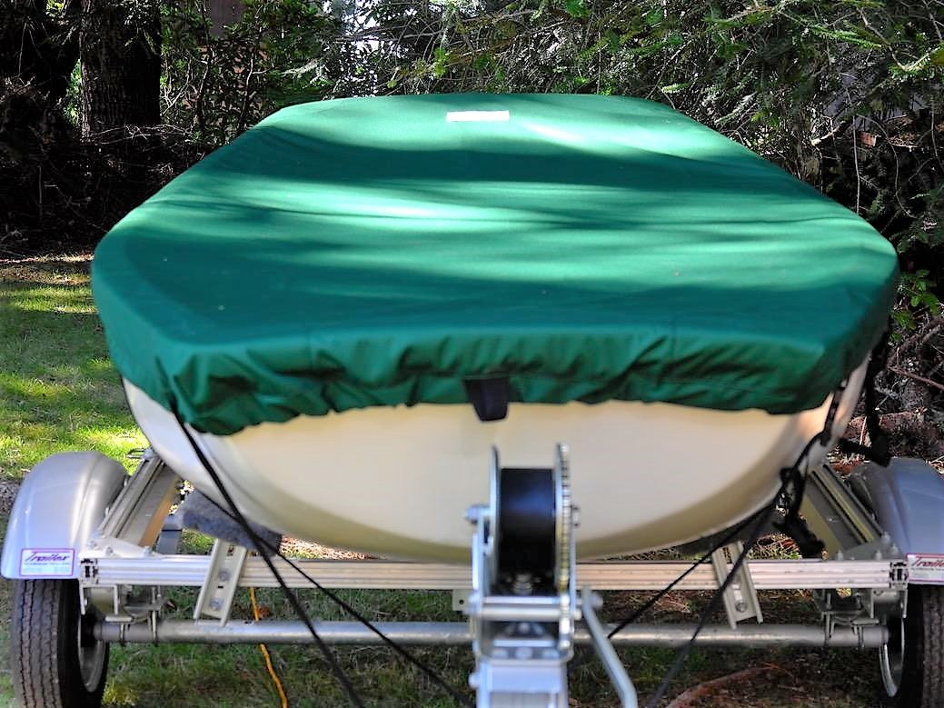 Boston Whaler Squall Sailboat Top Cover by SLO Sail and Canvas