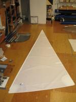 Nacra 5.8 Jib Sail White Dacron