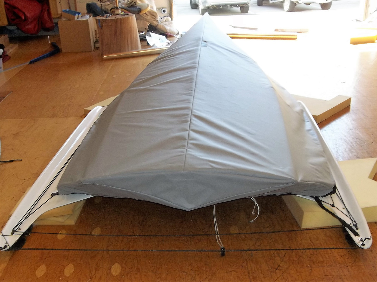 49er sailboat Hull Cover by SLO Sail and Canvas