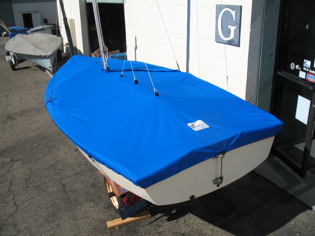 """Web Loops allow you to """"tent"""" your cover up to prevent pooling of water. 1/4"""" shockcord is built into cover to secure your cover tightly around the boat's rubrail."""