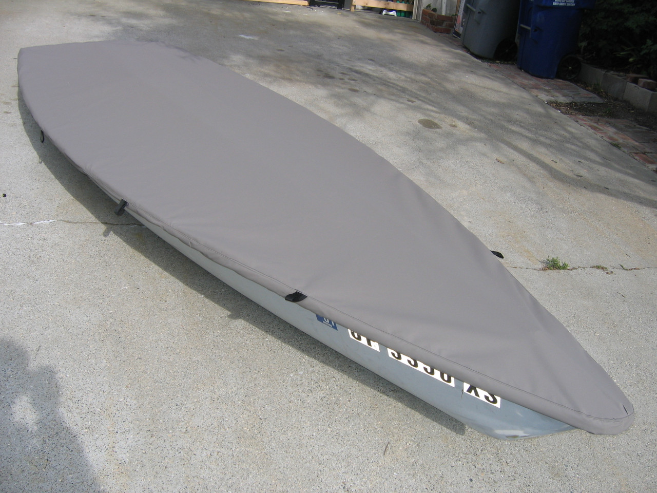Copperhead sailboat Top Cover by SLO Sail and Canvas