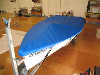 Capri 16.5 Sailboat Top Cover - Boat Deck Cover
