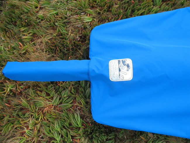 Sunfish Spars on Deck Top Cover by SLO Sail and Canvas. Shown in Polyester Royal Blue. Available in 3 fabrics and many color choices.