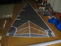 Nacra 5.7 Jib Sail Radial Laminate