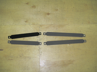 FRONT Hiking Strap (ONLY) for CFJ sailboats made in the USA by SLO Sail and Canvas.