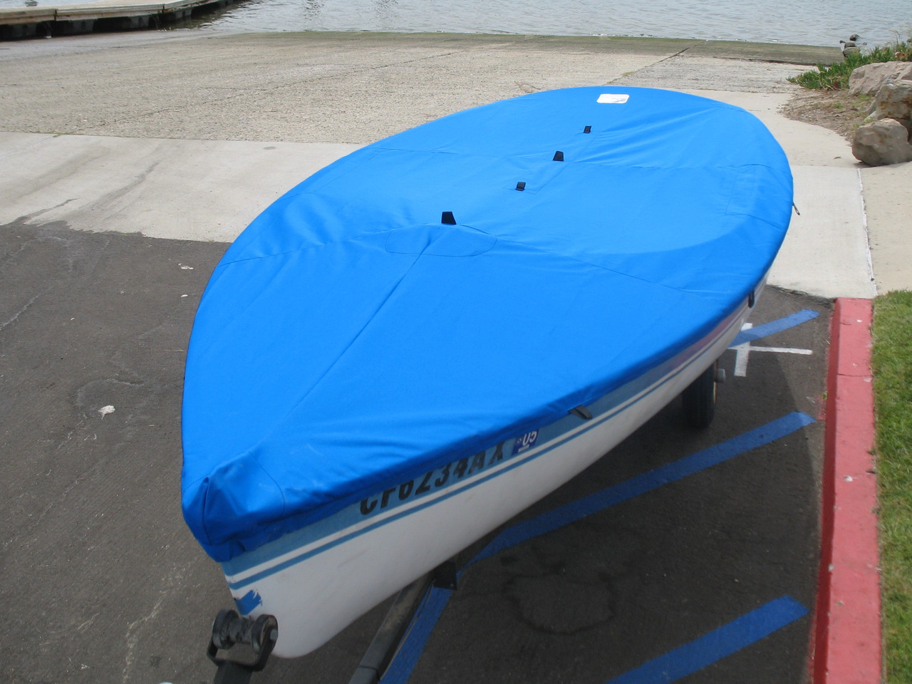 Catalina Top Cover by SLO Sail and Canvas