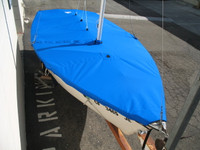 Blue Jay Sailboat Mooring Cover - Mast Up Flat Cover