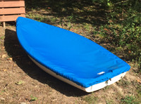 JY 9 Sailboat Top Cover by SLO Sail and Canvas