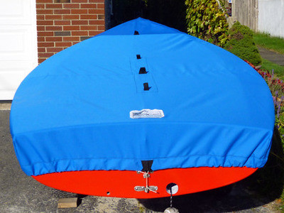 Newport 12' Kite Sailboat Top Deck Cover by SLO Sail and Canvas