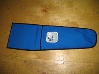Banshee Blade Bag - made in America by skilled artisans at SLO Sail and Canvas. Shown in Polyester Royal Blue. Available in many color choices.