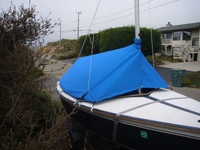 Capri 14.2 by Catalina Boom Tent Boat Cover