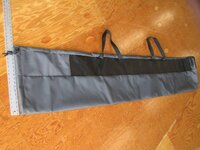 Rolled Sailbag made in America by skilled artisans at SLO Sail and Canvas.