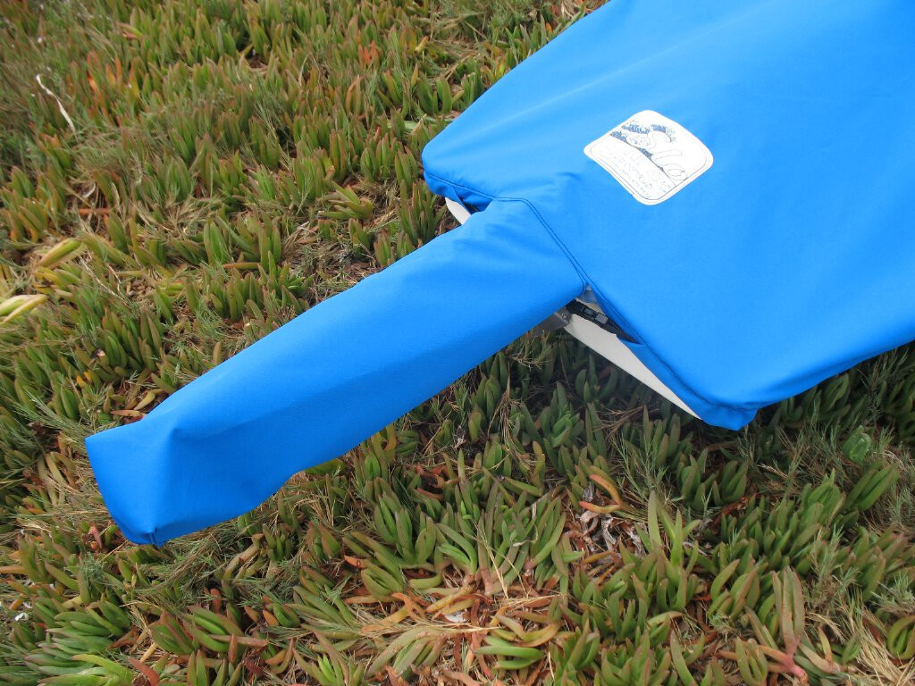 Our AMF Minifish Mooring Cover allows you to store your sail and spars on deck.