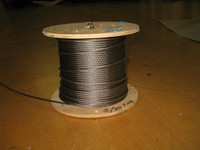 "5/32"" 7x19 Stainless Steel Wire Rope"