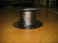 "1/8"" 7x19 Stainless Steel Wire Rope"